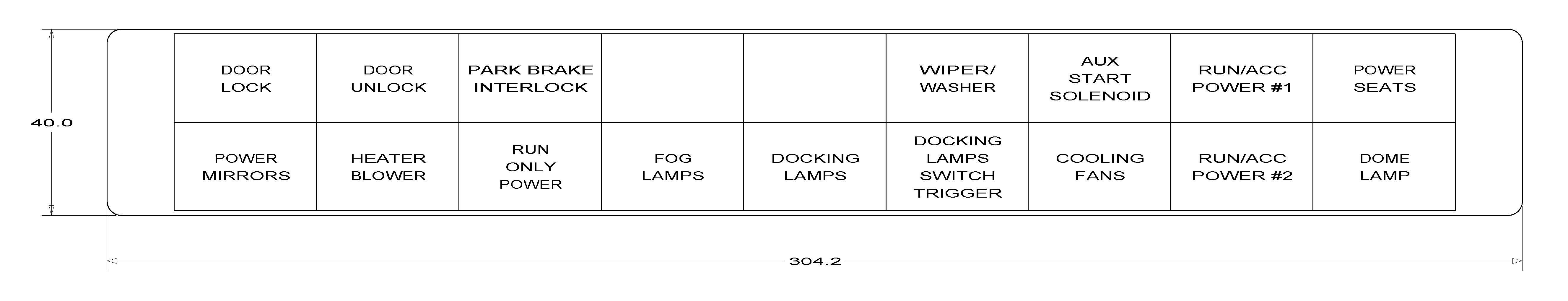 Front End Wiring 18557602000. Wiring. Winnebago Wiper Motor Wiring Diagram At Scoala.co